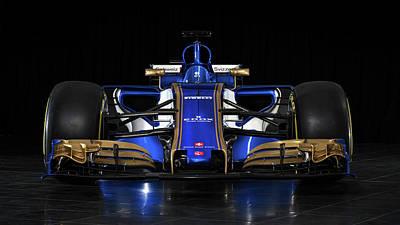 2017 Sauber C36 Formula One Car  1 Poster