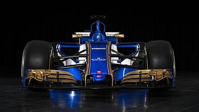 2017 Sauber C36 Formula One Car  Poster