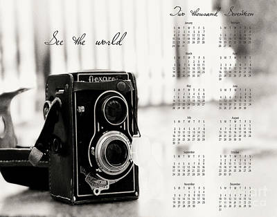 Poster featuring the photograph 2017 See The World Wall Calendar by Ivy Ho