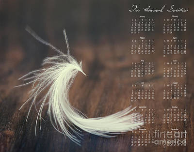 Poster featuring the photograph 2017 Wall Calendar Feather by Ivy Ho