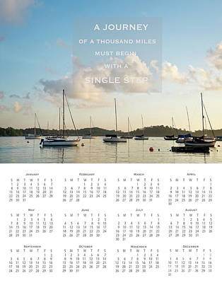 Poster featuring the photograph 2017 Wall Calendar Journey by Ivy Ho