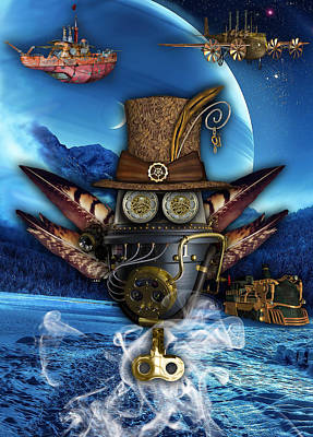 Steampunk Art Poster