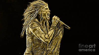 Steven Tyler Collection Poster by Marvin Blaine