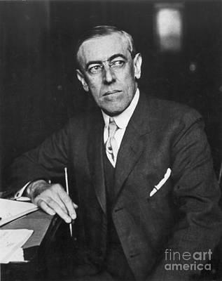 Woodrow Wilson (1856-1924) Poster by Granger
