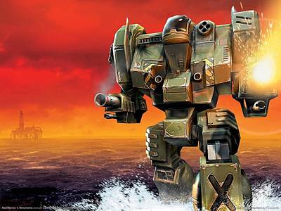 21004 1 Other Video Games Mecha Poster by F S