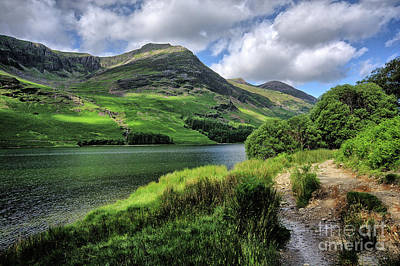 Buttermere Poster by Nichola Denny