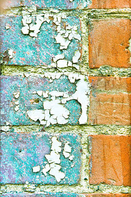 Peeling Paint Poster by Tom Gowanlock