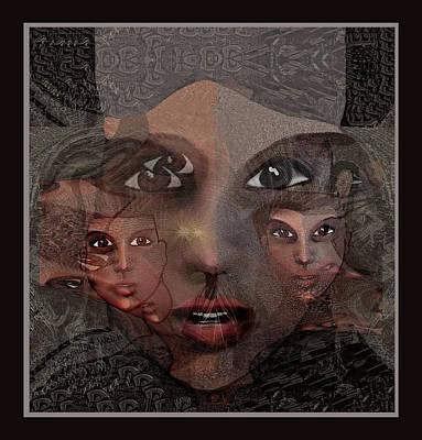 2327- Portrait Fractal 2017 Poster