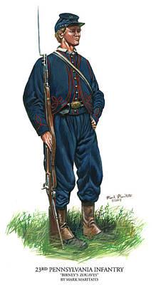 23rd Pennsylvania Infantry Poster