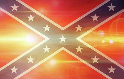 Confederate Flag Poster