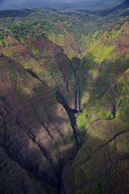 Kauai Canyons Poster