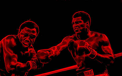 Muhammad Ali Collection Poster by Marvin Blaine