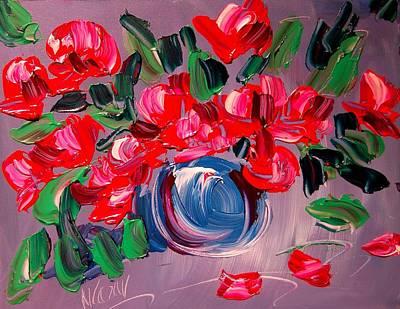 Roses Poster by Mark Kazav