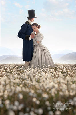 Victorian Couple Poster by Lee Avison