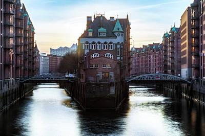 Hamburg - Germany Poster by Joana Kruse