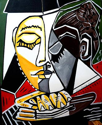 Picasso By Nora Fingers Poster