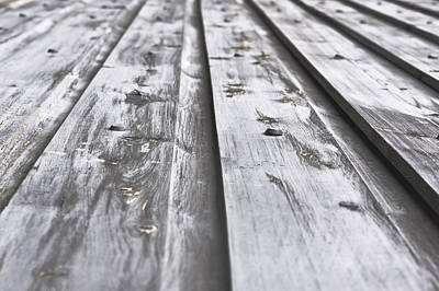 Wooden Background Poster