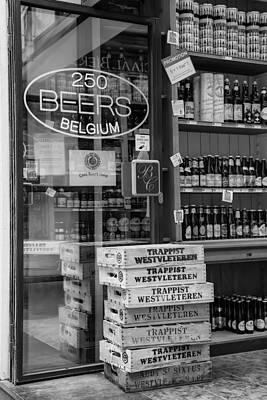 250 Beers Belgium Poster