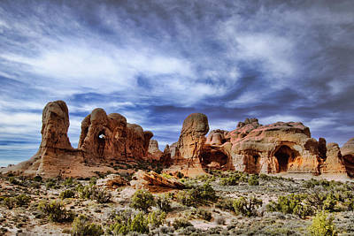 Arches National Park Poster by Mark Smith
