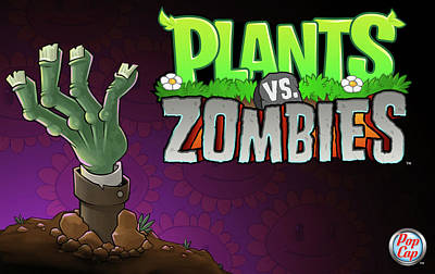 25762 Video Games Plants Vs Zombies  Poster