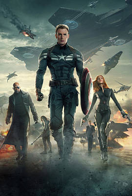 Captain America Civil War 2016 Poster