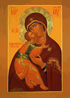 Mary Saint Poster by Christian Art