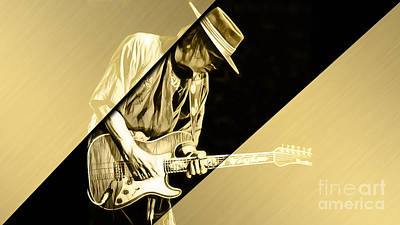 Stevie Ray Vaughan Collection Poster