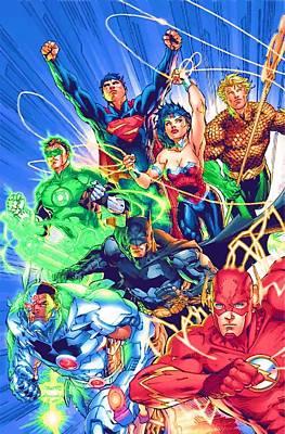 The Avengers Poster by Egor Vysockiy