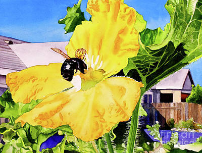 #261 Bumble Bee Poster by William Lum