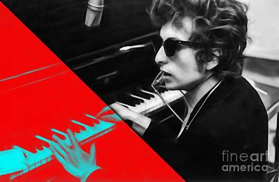 Bob Dylan Collection Poster