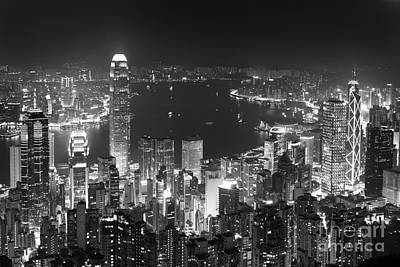 Hong Kong Skyline Poster