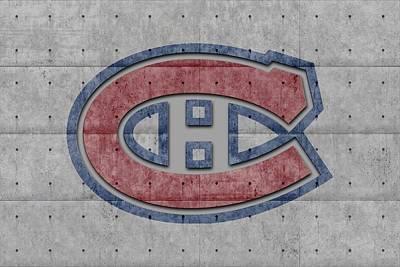 Montreal Canadiens Poster by Joe Hamilton