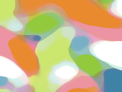 Translucent Abstractions Series Poster