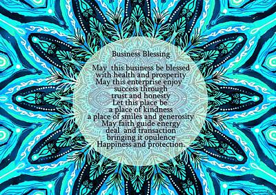 Business Blessing Poster