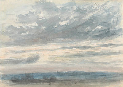 Cloud Study Poster by John Constable