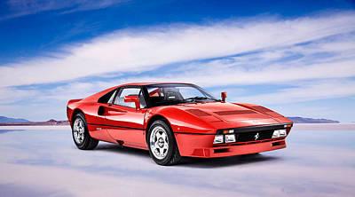 288 Gto Ferrari Poster by Mark Rogan