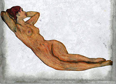 Nude Woman Poster