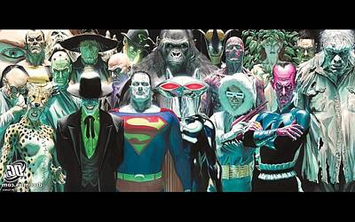 292675 Dc Comics Villains Bizarro Joker Brainiac Mr. Freeze Poison Ivy The Riddler Scarecrow Character Hugo Strange Lex Luthor Parasite Grodd Sinestro Solomon Grundy Poster