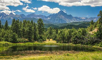 #2933 - Sneffles Range, Colorado Poster