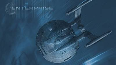 29402 Star Trek Enterprise Nx01 Poster by F S