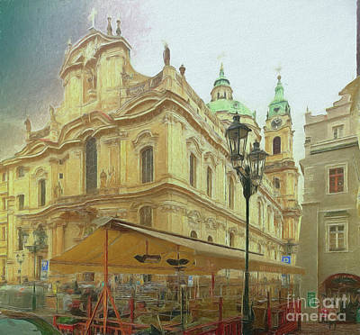 2nd Work Of St. Nicholas Church - Old Town Prague Poster