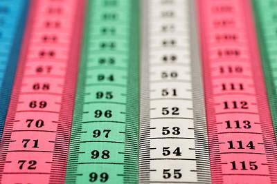 Measuring Tape Poster by Boyan Dimitrov