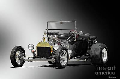 1923 Ford Model T Roadster Pickup  Poster