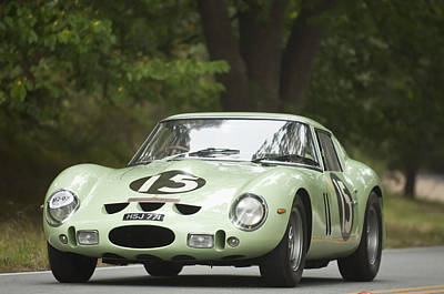1962 Ferrari 250 Gto Scaglietti Berlinetta Poster by Jill Reger