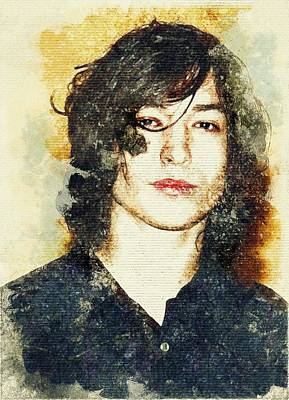 Actor And Musician Ezra Miller Poster