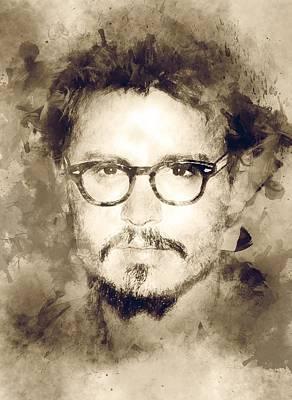 Actor Johnny Depp  Poster by Best Actors