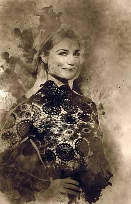 Alison Sudol Portrait Poster by Best Actors