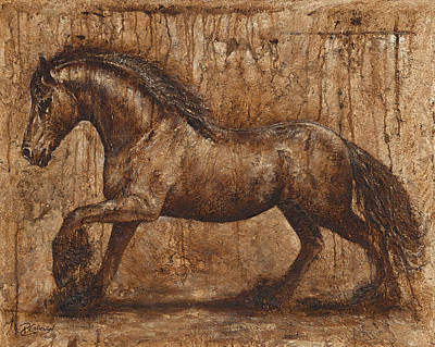 Ancient Glory Poster by Paula Collewijn -  The Art of Horses