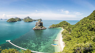 Ang Thong Marine National Park Poster