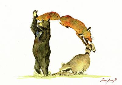 Animal Letter Poster